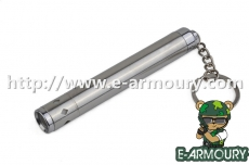 AAA Stainless Steel Flashlight in Mini Style